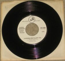 George Harrison (Beatles) - This Song / Learning How to Love You Dark Horse 45