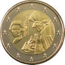 Nederland 2011   2 euro commemo UN C uit de rol  UNC du rouleaux !! ERASMUS