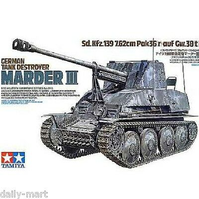 Tamiya 1/35 35248 German Tank Destroyer Marder III Model Kit