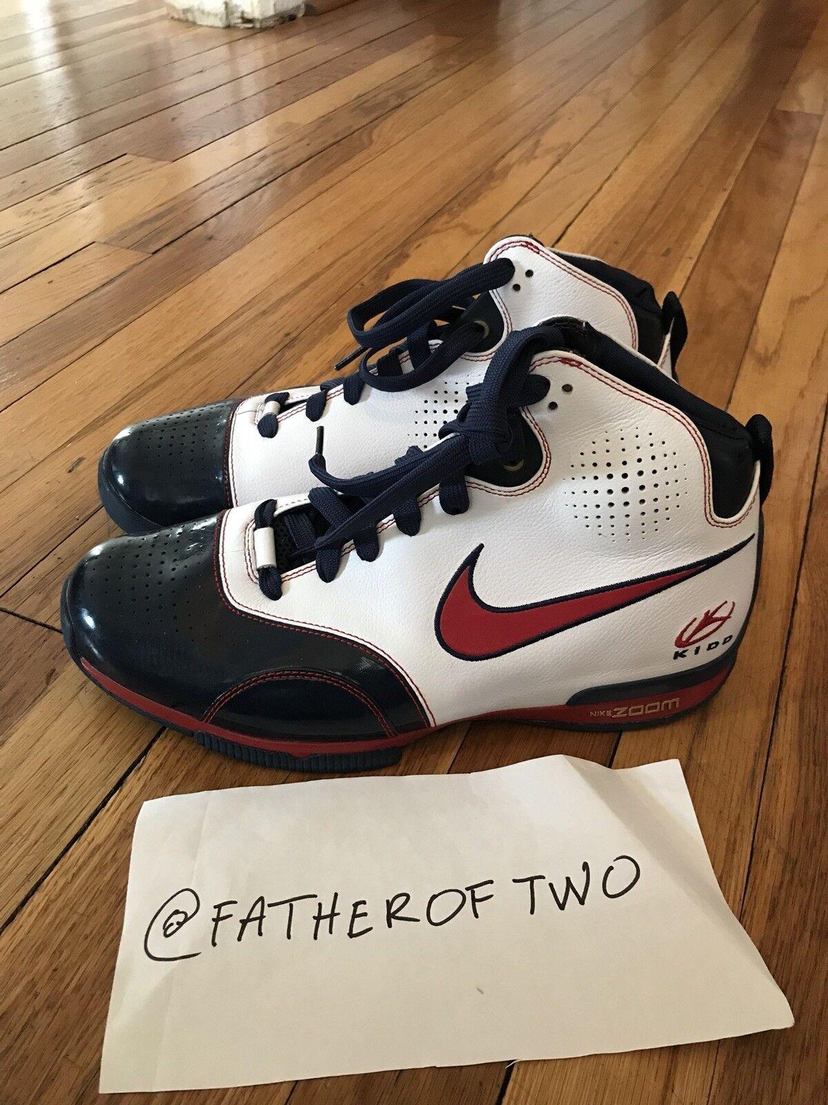 New Authentic Nike Zoom BB Jason Kidd PE '08 USA Olympics SAMPLE US size 9