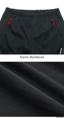 Men Sport Cycling Pants Winter Bike Riding Clothing Fishing Fitness Trousers