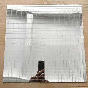 1Pc-20cm-20cm-Selbstklebend-Silber-DIY-Decor-Mirrow-Glass-Mosaikfliesen-Sticker