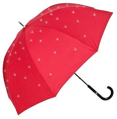 2019 Nuovo Stile Swarovski ® Elements Pioggia-ombrello Rosso Con Strass Elegante Umbrella Red-mostra Il Titolo Originale Garanzia Al 100%