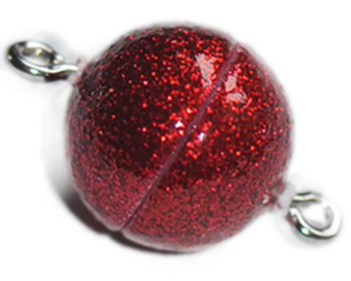 Divers 12 mm Plastique Magnétique Balle fermer