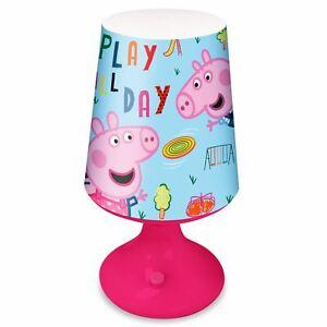 Peppa-Pig-Bureau-Table-Lampe-Chambre-Eclairage-Portable-Filles