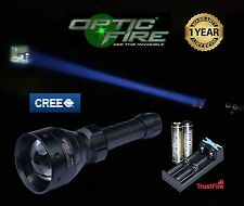 Opticfire TX-67 CREE XML T6 LED ZOOM survival search light lamping hunting torch