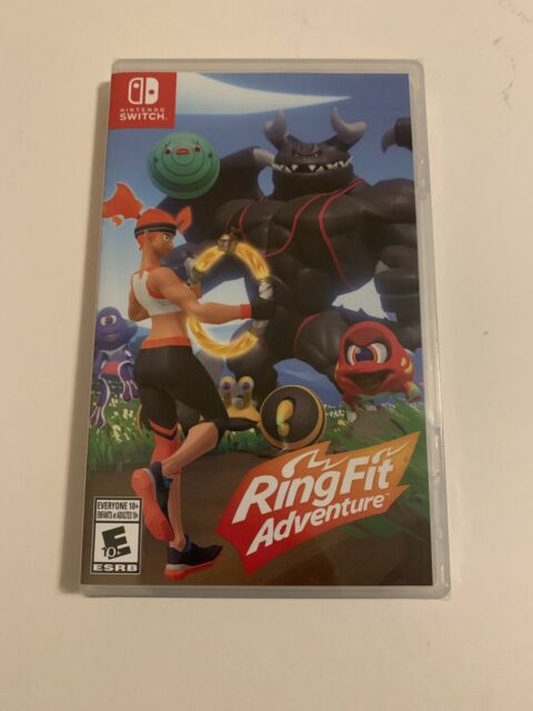 Nintendo Ring Fit Adventure - Game Only - Standard Edition Nintendo Switch, NEW