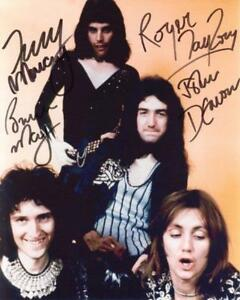 REPRINT May Autographed Signed 8 x 10 Photo Poster QUEEN Freddie Mercury