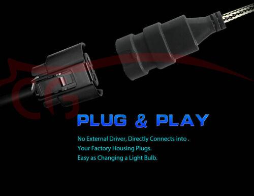 Fog Light For Hyundai Sonata 2012-14 6X 8000K LED Headlight Bulbs Kit High Low