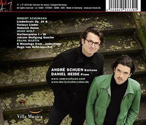 Andre-Schuen-and-Daniel-Heide-Schumann-Lieder-CD