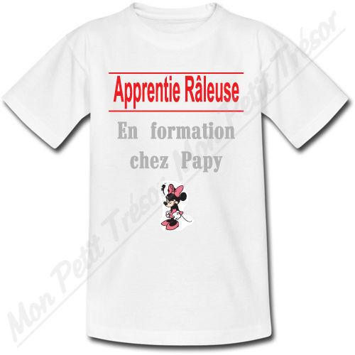 T-shirt Enfant Apprenti Râleuse En formation chez Papy