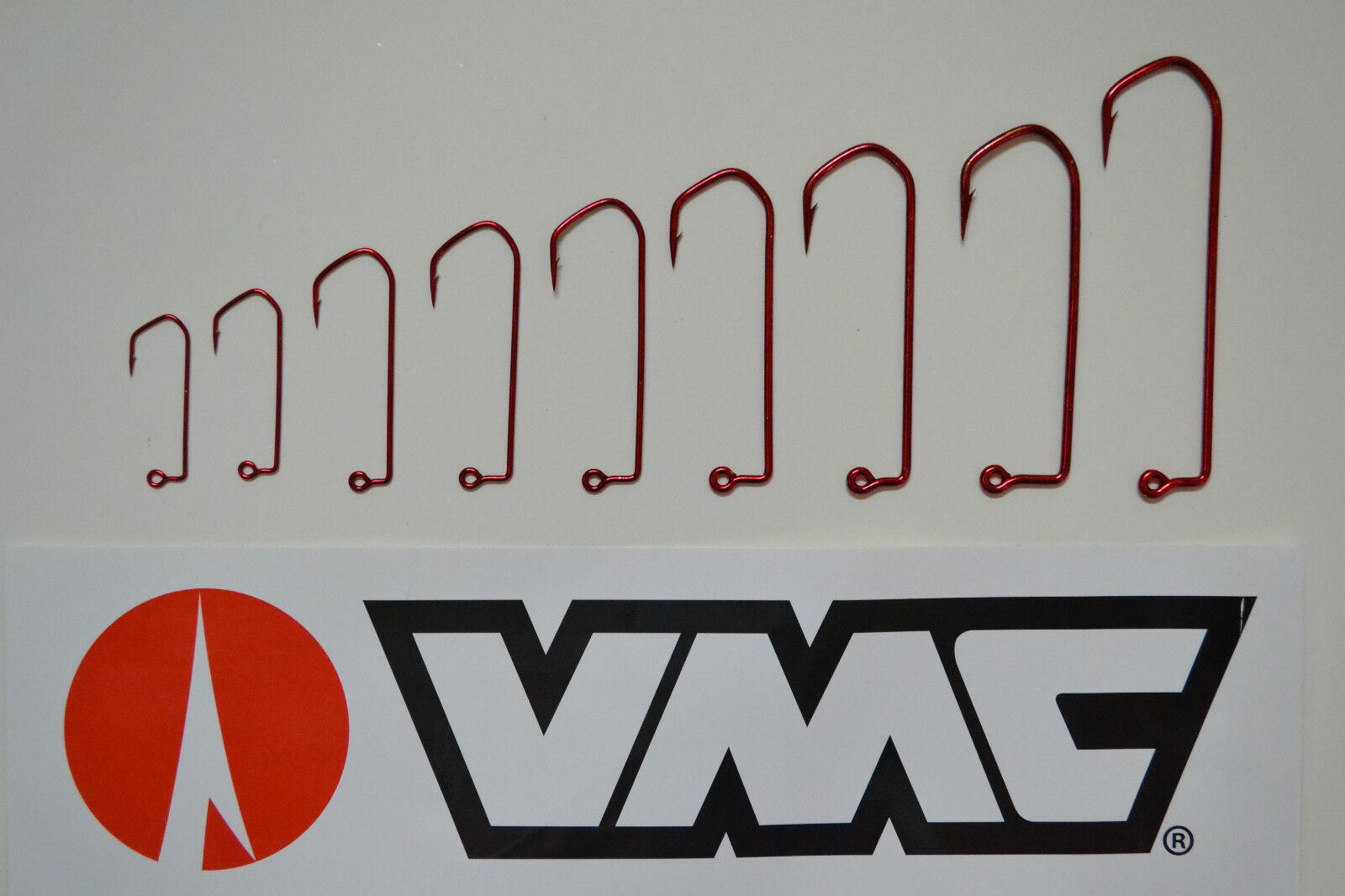 VMC VMC VMC Barbarian Spezial JIG-Haken 5150 RD Gr.2 0-Gr.12 0 Bleigußform Angelhaken be99ce