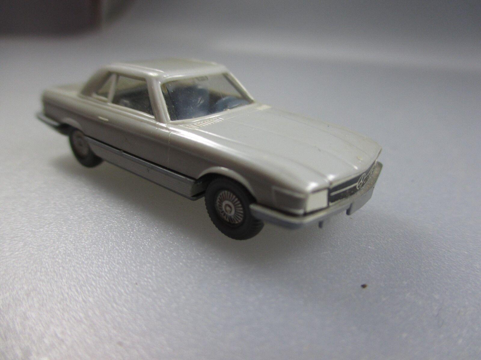 Wiking  Mercedes Benz 300 SL mit Papiergrill (Schub38)