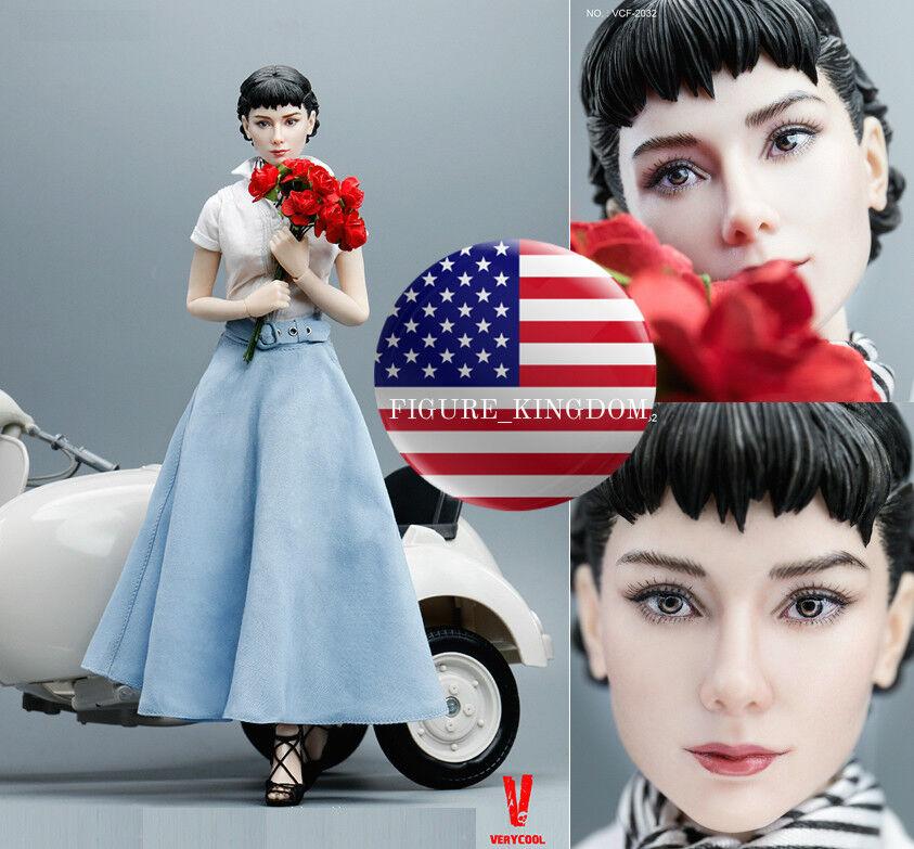 1 6 Scale Audrey Hepburn Roman Holiday Female Figure Premium Full Set VERYCOOL