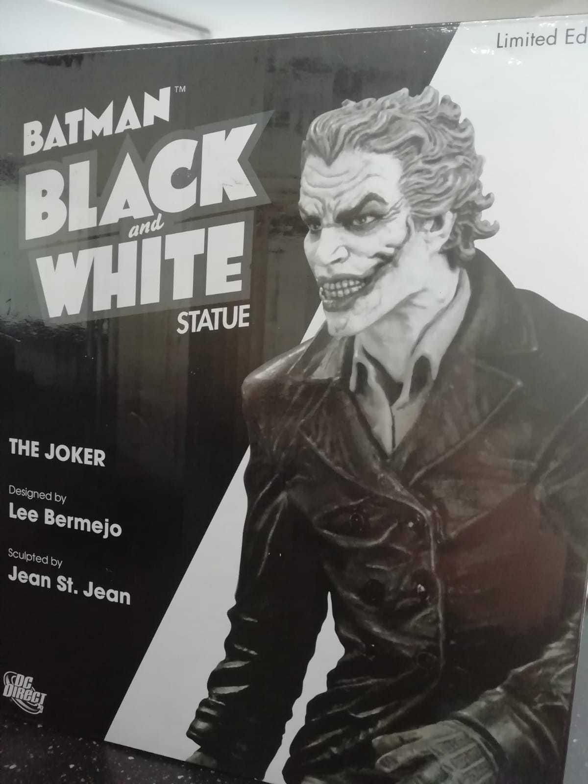 Dc Batman negro&blanco Statue -The Joker- Limited Ed By Lee Bermejo; Jean St.Jean