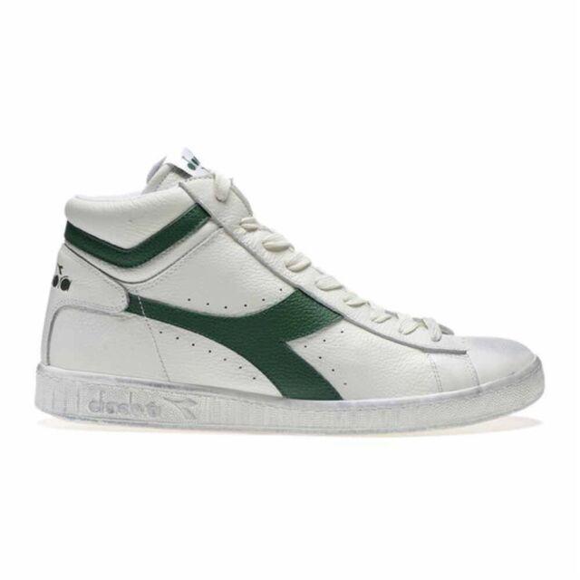 scarpe diadora alte bianche