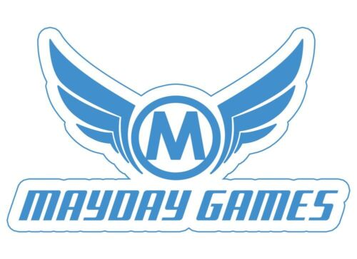 MAYDAY GAMES Square Board Game Card Sleeves Clear Size 80 x 80mm 100ct