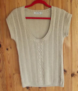 Pull-col-rond-a-manches-courtes-JODHPUR-taille-3-40