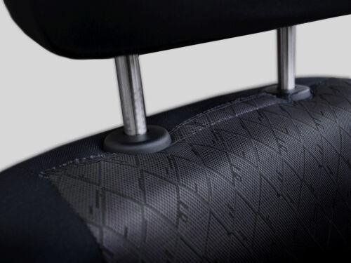 grey full set black Car seat covers fit Volkswagen New Beetle