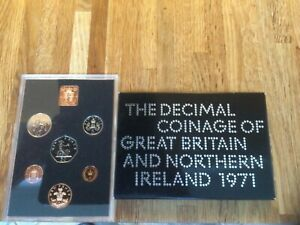 1971 Royal Mint Proof Coin Set - Coinage of Great Britain and Northern Ireland