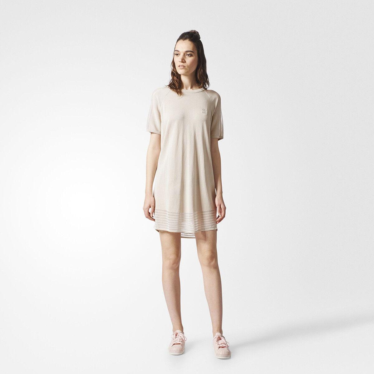 Adidas Originals WMNS Tee dress damen sail BR2229