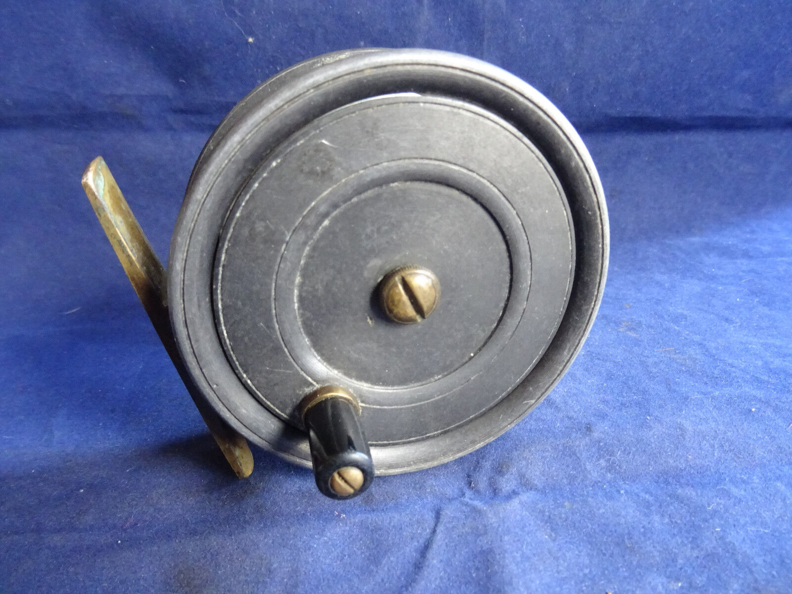 A VERY FINE VINTAGE DINGLEY BUILT 3 1 2  PATTERN 1 TROUT FLY REEL