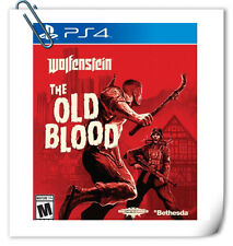PS4 Wolfenstein: The Old Blood SONY PlayStation Games Shooting Bethesda