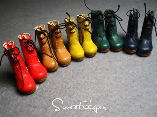 """【Tii】1//6 12/"""" Blythe Pullip doll shoes snow boots azone cherryB doll outfit"""