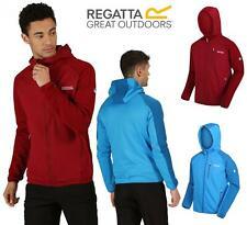 Regatta Woodford Fleece Jacket Full Zip Hooded Tech Warm Backed Extol  Ribbed