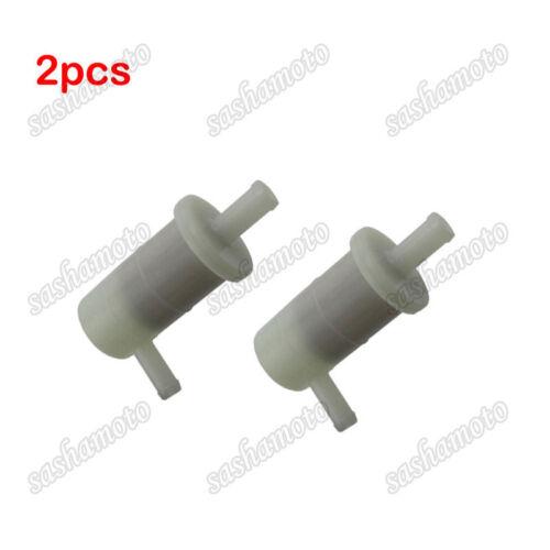 2x Fuel Filter For Kawasaki 49019-1081 Ninja ZX7R 96-03 ZX6R 98-02 ZZR600 05-08