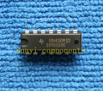 50 Pcs CD4016BE DIP-14 CD4016 Quad Bilateral Switch