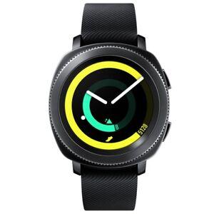 Samsung SM-R600 Gear Sport Fitnesswatch schwarz 1,2 Zoll Display 4GB Bluetooth