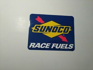 2 INCH SUNOCO RACEING DECAL STICKER