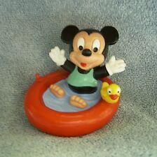 """Disney: """"Micky Maus als Baby im Planschbecken"""": Comic Figur von Bully, neu"""