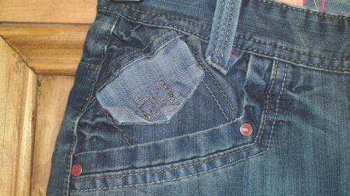"""da Uomo Qualità Stonewashed Jeans Girovita 25 /"""" 28/"""" Bnwt DEAD OR ALIVE Nuovo Ragazzi"""