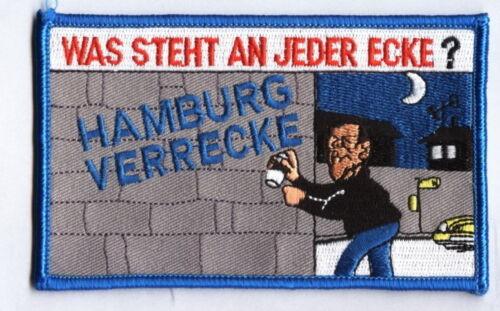 """Hamburg Ver.../"""" für die Kutte Anti Hamburg Aufnäher /""""."""