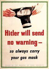 World War II 6 7x5 impresiones de propaganda de reproducción