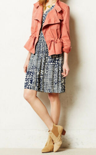 Drawstring Tag Anthropologie Jacket Reg Cotton Størrelse Anorak Lille Nw Hei Mp TBqPHH