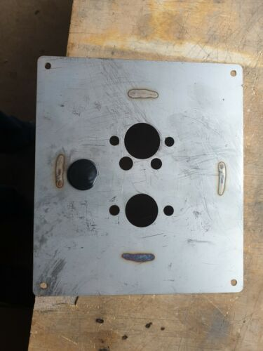 STAINLESS TURRET MOUNTING PLATE EBERSPACHER D2 D4 WEBASTO Planar Chinese heater