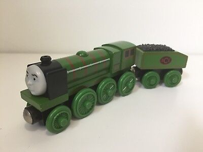 Thomas & Friends Wooden Railway Train BIG CITY ENGINE with TENDER