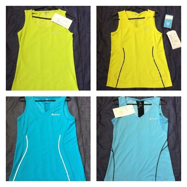 ODLO Shirt Ladies T-Shirt Top Running Jogging Tee Adult TEC Tshirt tank Womens