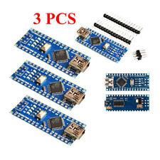 3 Sets of USB Nano V3.0 ATmega328 CH340G 5V 16M for Arduino USA Free Shipping BY