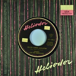 7-034-JOHNNY-AND-THE-HURRICANES-Oh-du-lieber-Augustin-HELIODOR-Rock-039-n-039-Roll-D-1961