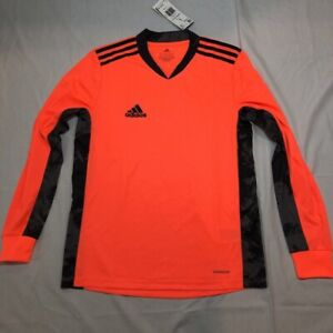 Details about Adidas Aeroready Boys Adipro 20 GK Soccer Jersey Coral Long Sleeve V-Neck L New