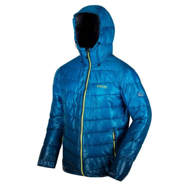 Regatta Men/'s Azuma Atomlight Lightweight Insulated Hooded Jacket Brown