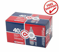 Crosman Co2 Cartridges 12g Powerlets 40ct. Airsoft Gun, Bb Pellet