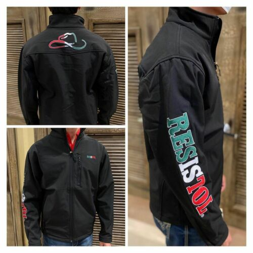 BLACK   Free Shipping ! RESISTOL MEN/'S Limited Edition Mexico Jacket