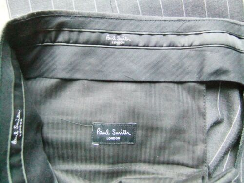 Nuovissimo Paul 44 Regular scuro Paul grigio gessati Smith Pantaloni rCrxn