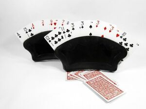 Image Is Loading 2 Fan Free Standing Playing Card Holder Canasta