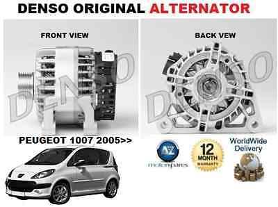FOR PEUGEOT 1007 2005/>/> 1.4 1.6 16V ORIGINAL DENSO ALTERNATOR UNIT 90AMP 5702A4